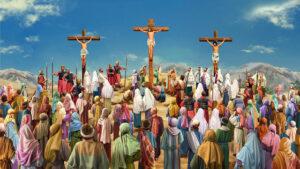 受難週第七天 被釘十字架
